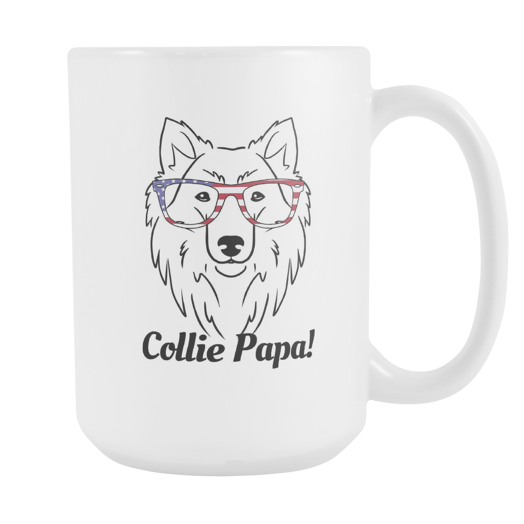 Collie Papa! Coffee Mug