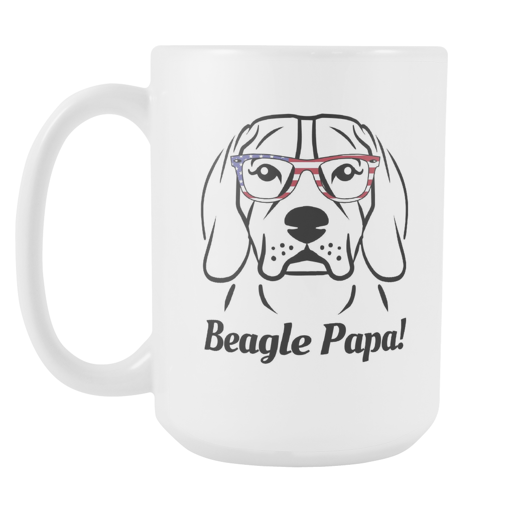 Beagle Papa! Coffee Mug
