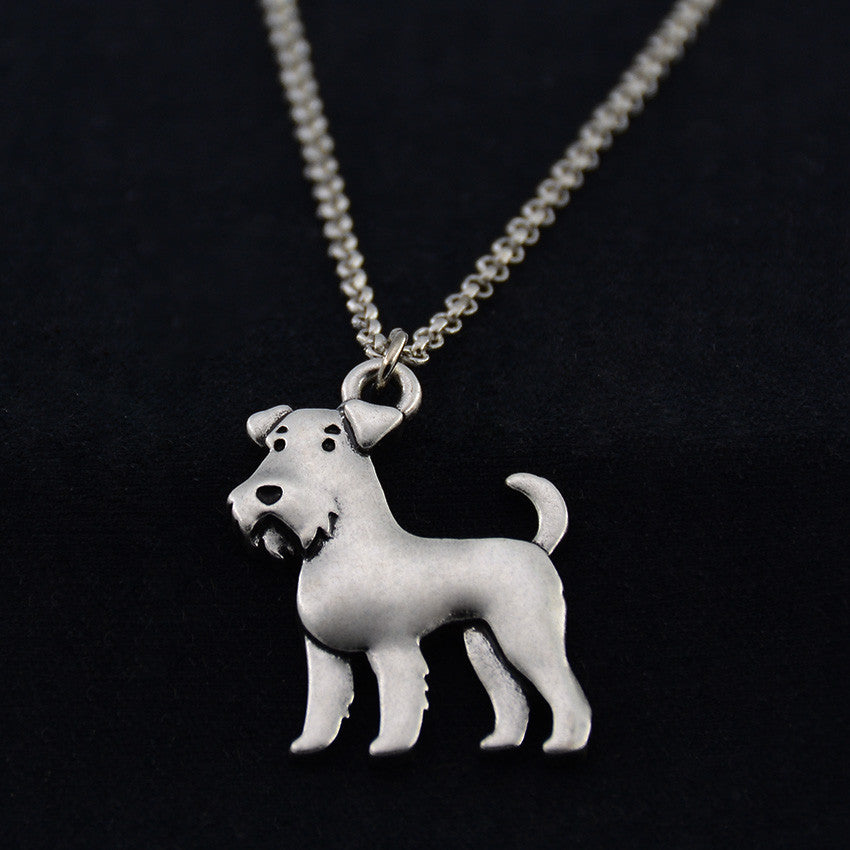 Airedale Terrier Vintage Necklace