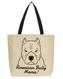 American Bully Mama Tote Bag