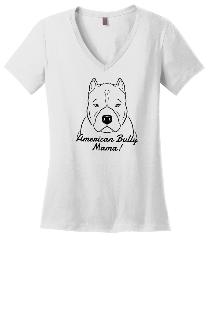 American Bully Mama Ladies T-Shirt (Shirts Run Small)