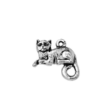 Antique Cat Charm