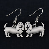 Bloodhound Vintage Earrings