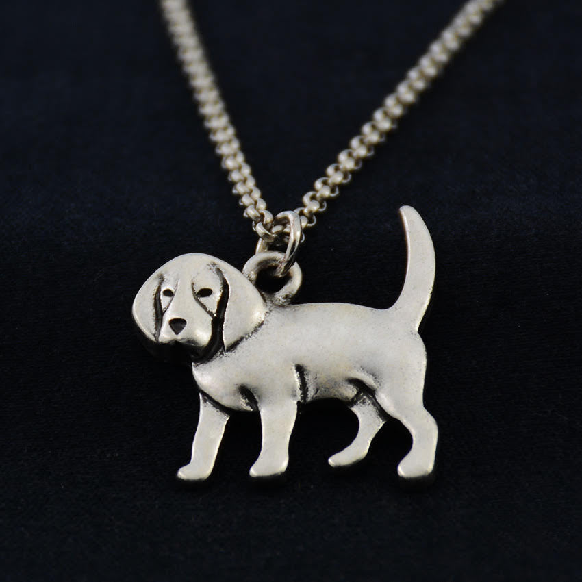 Beagle Vintage Necklace