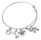 Bichon Frise Bangle Bracelet