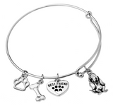 Bloodhound Bangle Bracelet
