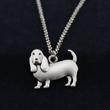 Basset Hound Vintage Necklace