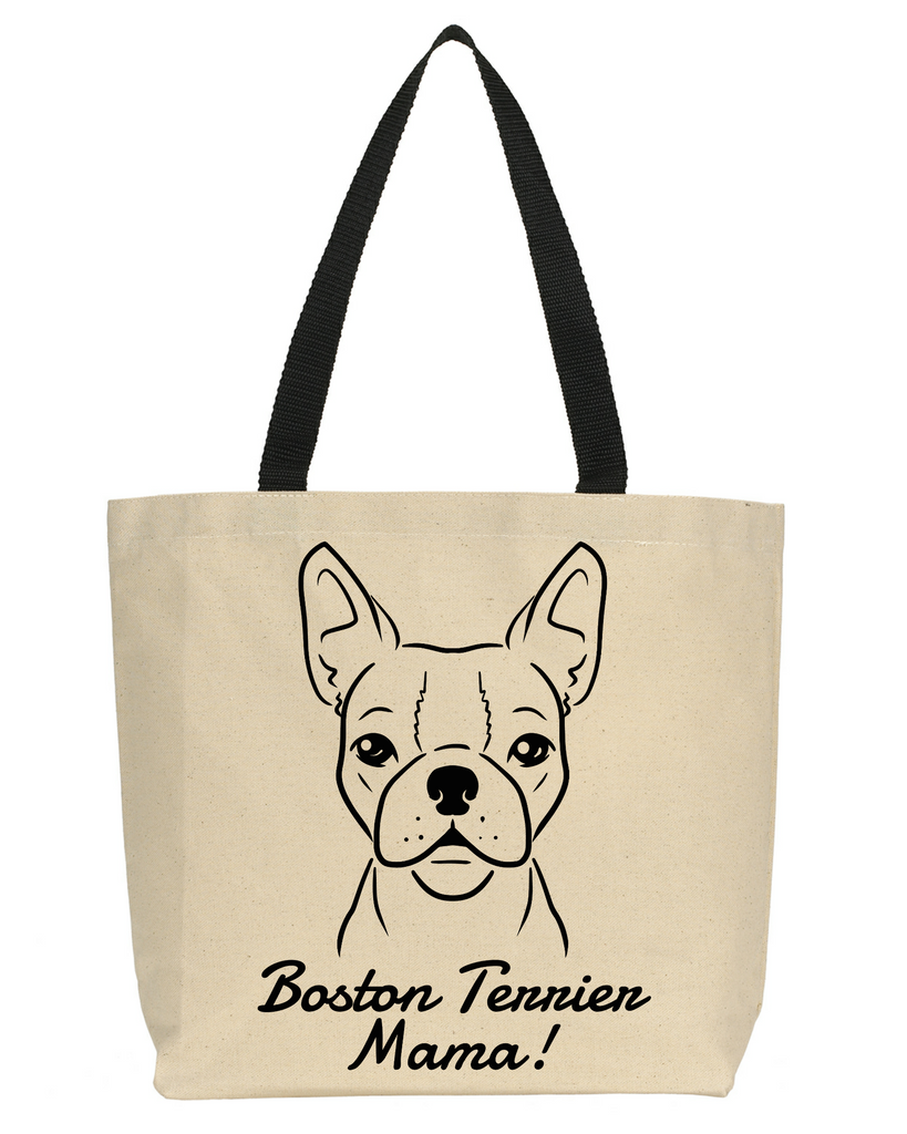 Boston Terrier Mama Tote Bag