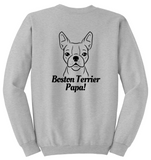 Boston Terrier Papa Sweatshirt