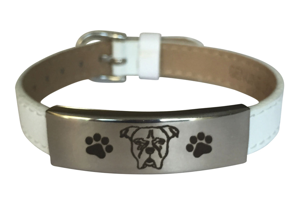 Adjustable Engraved Boxer Bracelet (50% OFF)