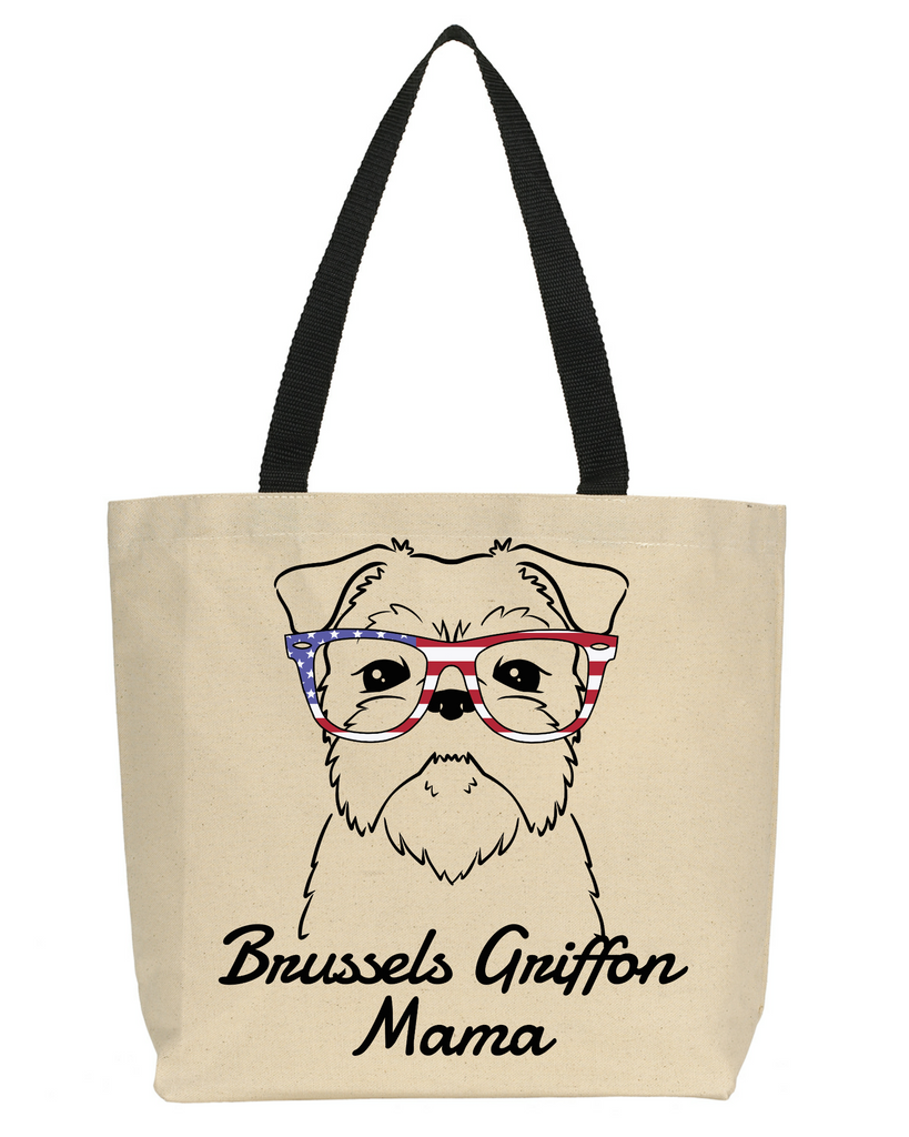 Brussels Griffon Mama Tote Bag