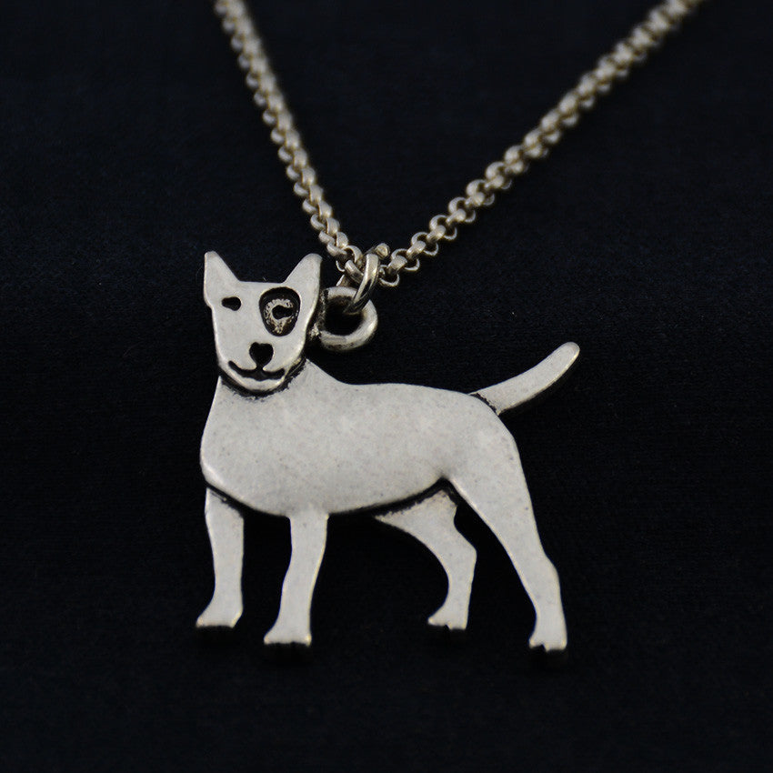 Bull Terrier Vintage Necklace
