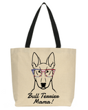 Bull Terrier Mama Tote Bag