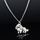 Cavalier King Charles Spaniel Vintage Necklace