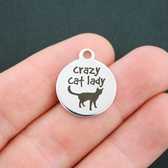 Crazy Cat Lady Charm