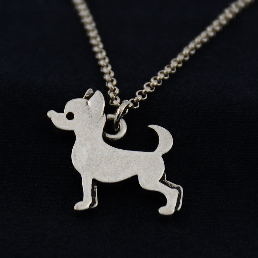 Chihuahua Vintage Necklace