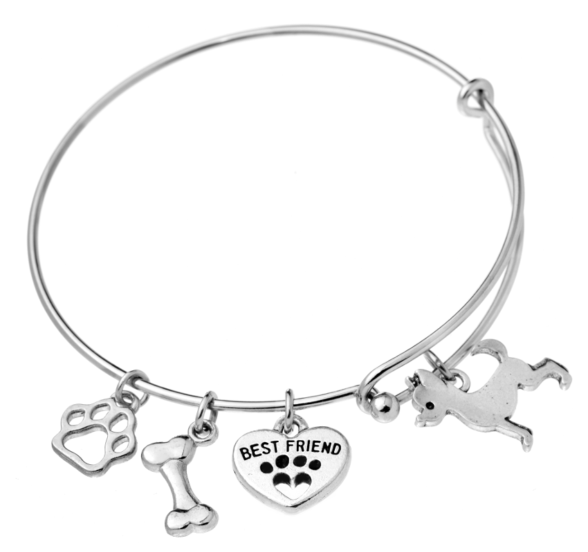 Chihuahua Bangle Bracelet