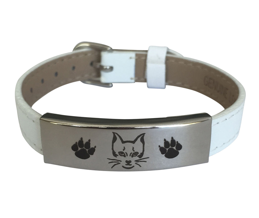 Adjustable Engraved Cat Bracelet (50% OFF)