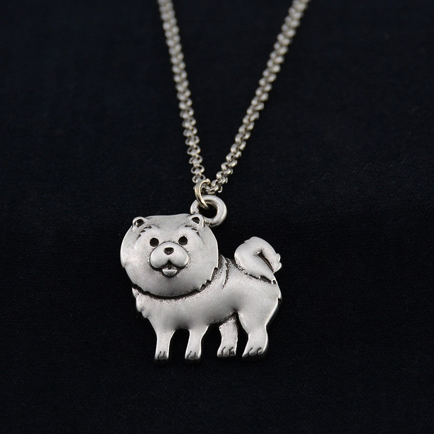 Chow Chow Vintage Necklace