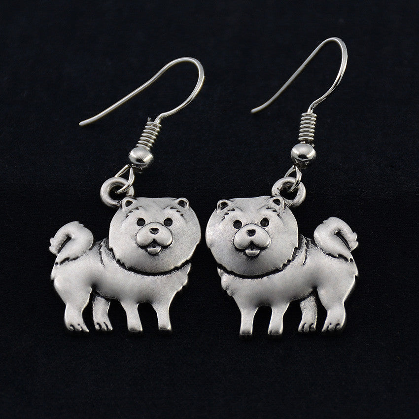 Chow Chow Vintage Earrings
