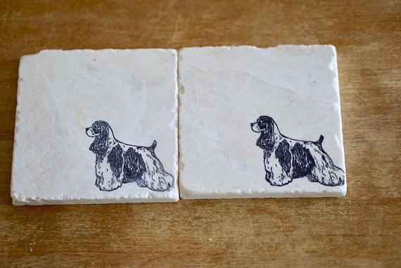 Cocker Spaniel Coasters