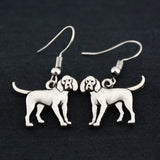 Coonhound Vintage Earrings