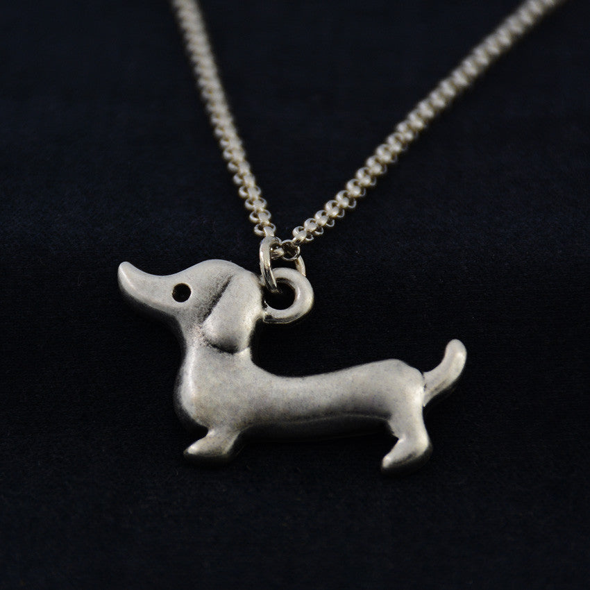 Dachshund Vintage Necklace
