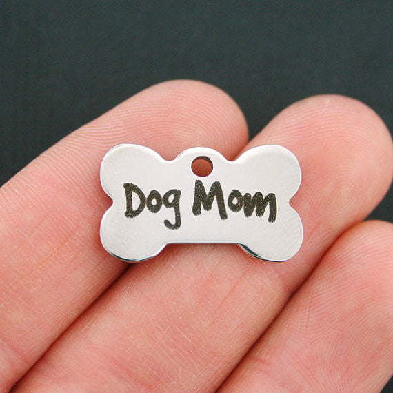 Dog Mom Bone Charm