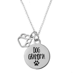 'Dog Grandma' Necklace