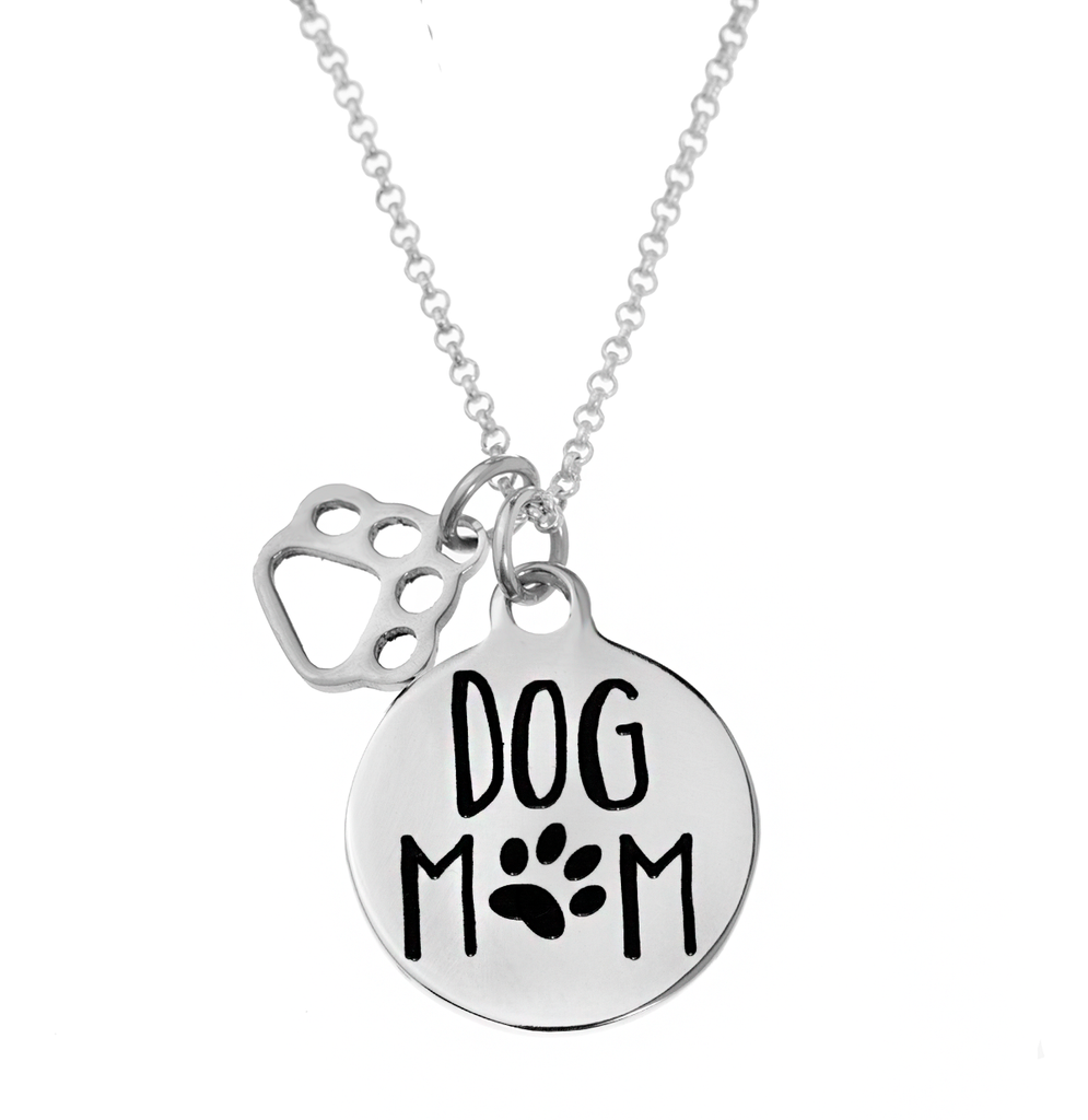 'Dog Mom' Necklace