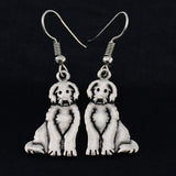 Labradoodle Vintage Earrings
