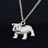 English Bulldog Vintage Necklace
