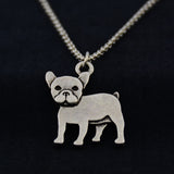 French Bulldog Vintage Necklace