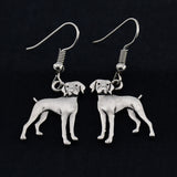 Weimaraner Vintage Earrings