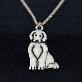 Labradoodle Vintage Necklace