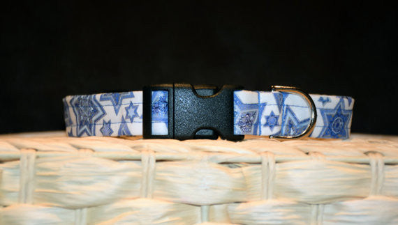 Hanukkah 'Star of David' Collar