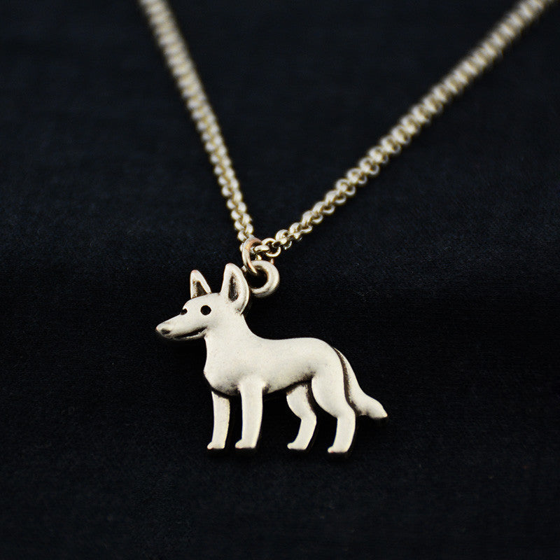 Blue Heeler Vintage Necklace