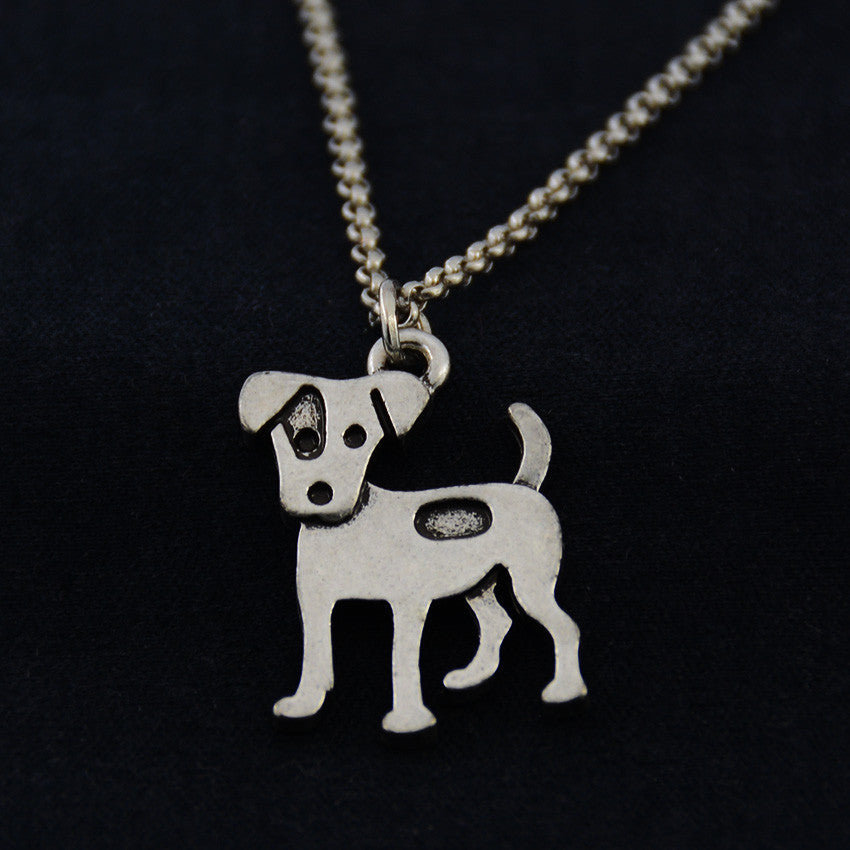 Russell Terrier Vintage Necklace