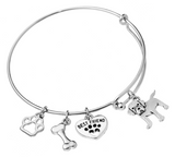 Labrador Retriever Bangle Bracelet