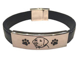 Premium Engraved Labrador Retriever Bracelet (50% OFF)