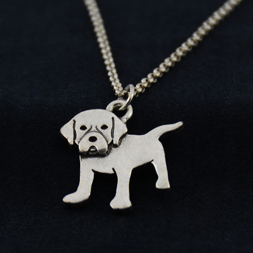 Labrador Retriever Vintage Necklace