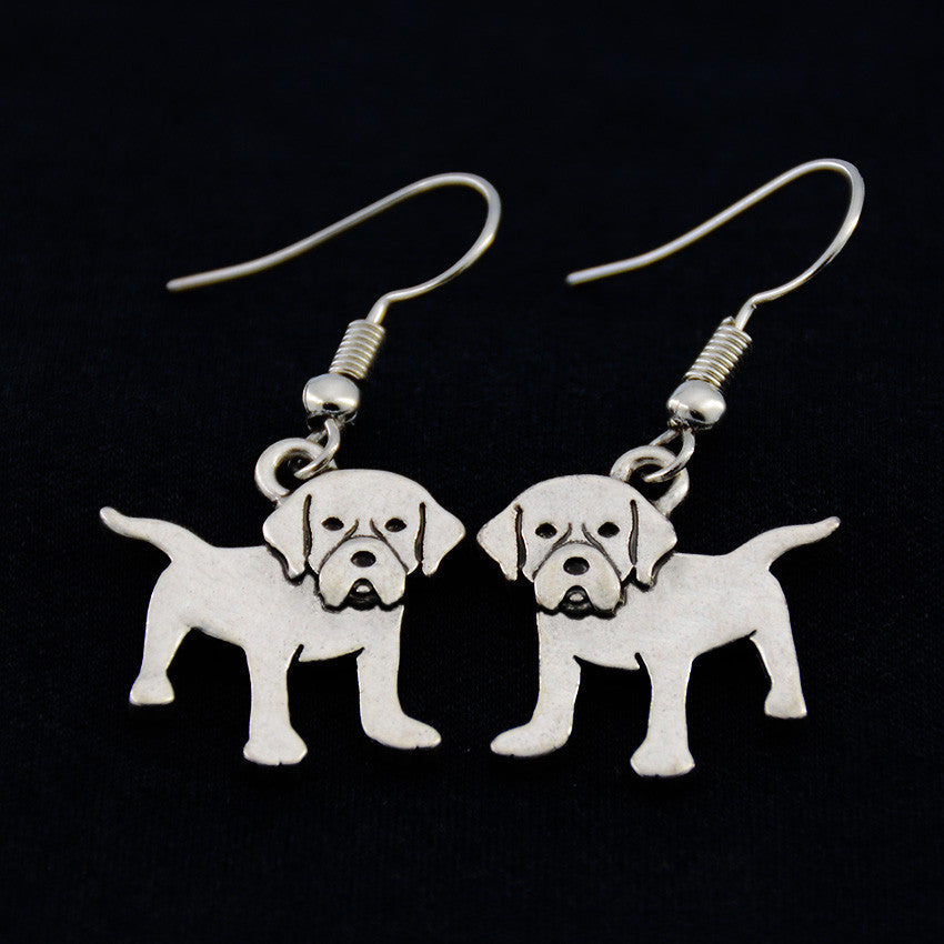 Labrador Retriever Vintage Earrings