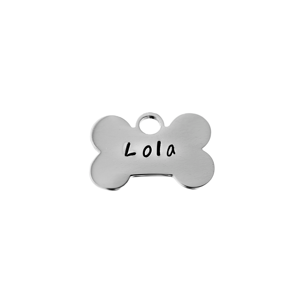 Personalized (Name Engraved) Dog Bone Charm