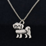 Havanese Vintage Necklace