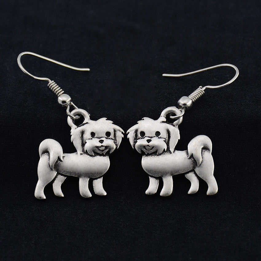 Havanese Vintage Earrings