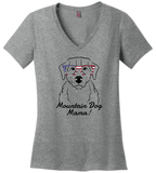 Bernese Mountain Dog Mama Ladies (Medium) T-Shirt (50% OFF)