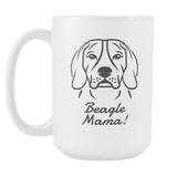 Beagle Mama! Coffee Mug