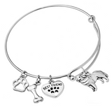 Bernese Mountain Dog Bangle Bracelet