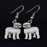 Old English Sheepdog Vintage Earrings