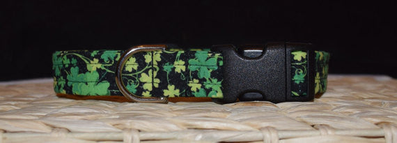 Green, Yellow & Black Shamrock Collar